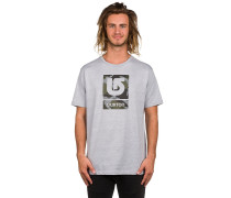 Logo Vertical Fill T-Shirt grau