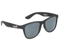 Daily matte black Sonnenbrille schwarz