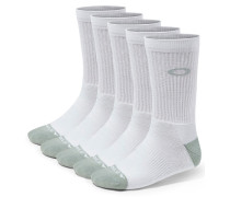 Performance Basic Crew Sock 5 Pack weiß