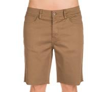A/979 5 Pkt Shorts braun