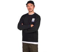 SB Stripes Crew Sweater white