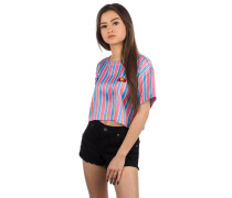 Naga Stripe Crop T-Shirt