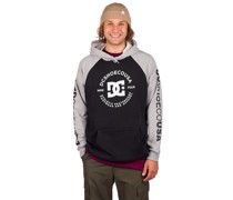 Star Pilot Raglan Hoodie grey heather