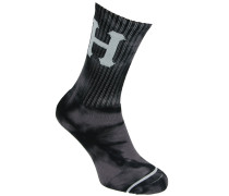 Cryst Wash Classic H Crew Socken schwarz
