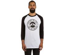 Stamped Logo T-Shirt weiß