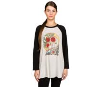 Three Roses T-Shirt LS black