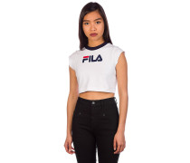 Archive Crop Tank Top white