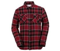 Shandy Flannel Shirt LS blood red