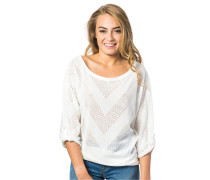 Corona Pullover weiß