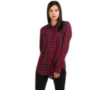 Meridian Flannel Shirt LS tibetan red