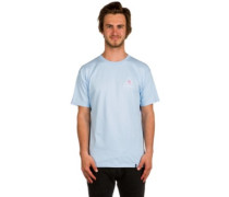 X Pink Panther Triple Triangle T-Shirt lt blue