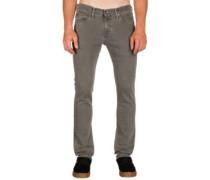 V76 Skinny Jeans worn grey