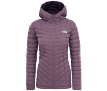 Thermoball Hooded Outdoor Jacket black plum