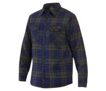 Glenwood Sherpa Flannel Hemd blau