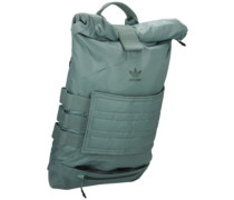 Pastel Roll Up Backpack st bluegrass
