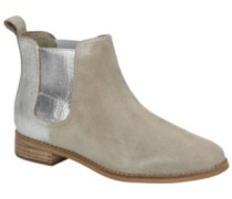 Ella Bootie Shoes Women desert taupe suede silver