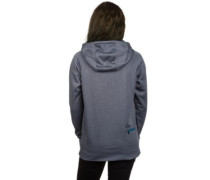 Crystal Fleece Jacket mood indigo heather
