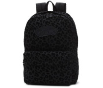 Realm Backpack black leopard