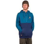 Boulder Zip Hoodie morocan blue