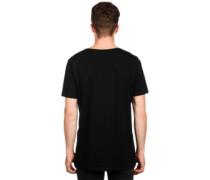 Be Safe Logo Trippy T-Shirt black
