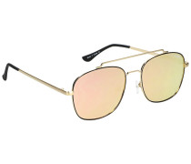 To Be Seen Gold Sonnenbrille gelb