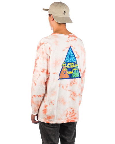 Acid Skull TT Long Sleeve T-Shirt coral pink