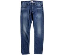 Revolver Fleece Jeans iron blue used