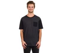 50-50 Solid Pocket T-Shirt blackout light heather