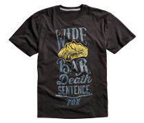 Wide Bar T-Shirt schwarz