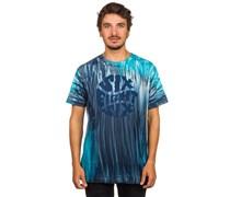 Drip Tie-Dye T-Shirt blau