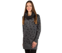 Louth Turtle Neck Hoodie feathers