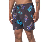 Tropical Vibes 16'' Volley Boardshorts