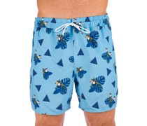"Toucan Tropics 16"" Beach Boardshorts"