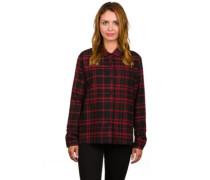 Treasure Flannel Woven Shirt LS black