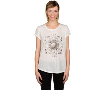 Diamond Floral T-Shirt weiß