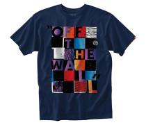 Checker Blaster II T-Shirt blau