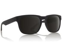 Monarch Matte Black Sonnenbrille schwarz