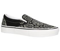 X Baker Skate Slip-Ons black