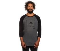 Squared Raglan T-Shirt schwarz