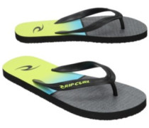 Combined Stripe Sandals lime