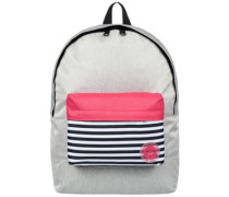 Sugar Baby Colorblock Backpack heritage heather