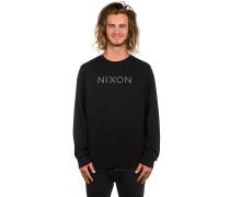 Summit Crew Sweater schwarz