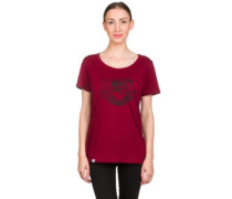 BT Wait For It T-Shirt burgundy