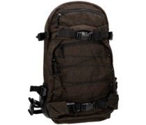 New Louis Backpack flannel brown
