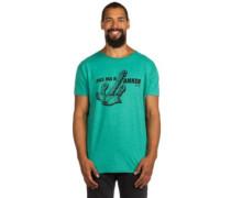 Anchored T-Shirt deep green melange