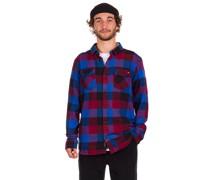 Box Flannel Shirt nautical blue