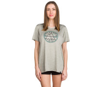 Cap Daily Graphic Funktionsshirt grau