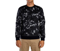 Surf Club Lineup Crew Sweater schwarz