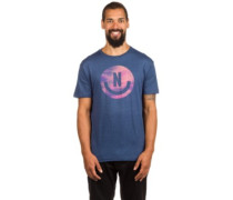 Smiley T-Shirt navy heather