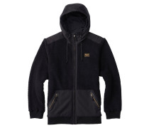 Tribute Fleece Zip Hoodie schwarz